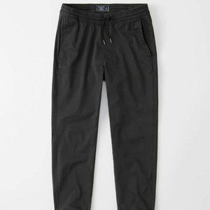 Abercrombie & Fitch Sateen Joggers S size